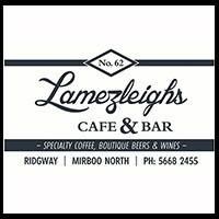 Cider Tonic available at Lamezleighs Cafe Mirbbo North Victoria