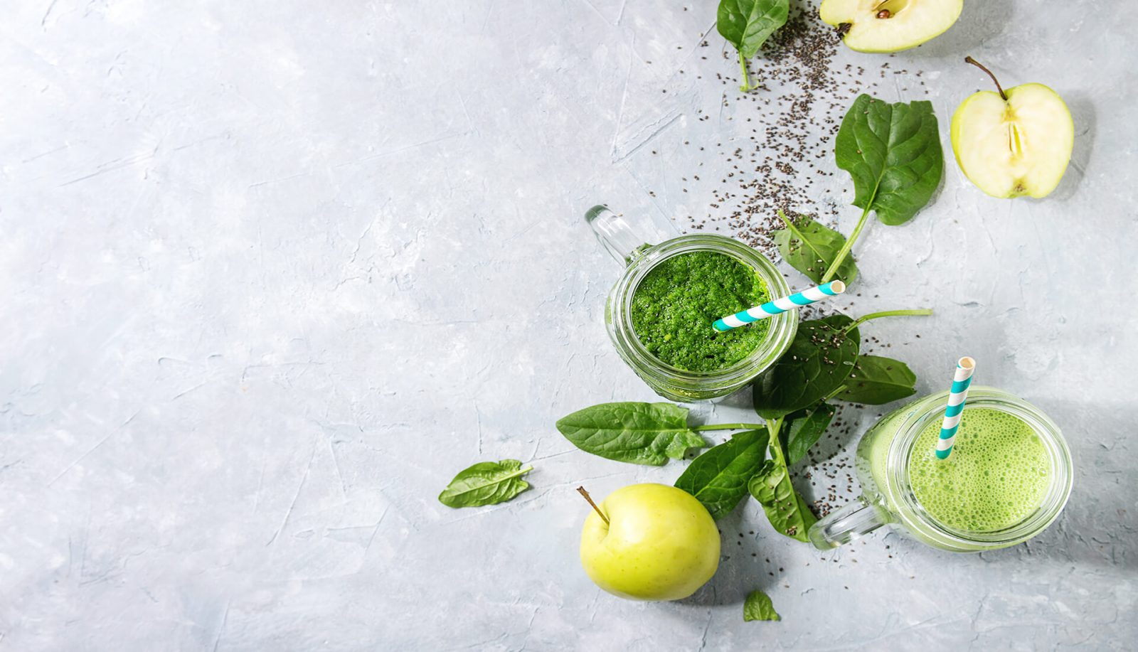 Green smoothie with Cider Tonic Nourish