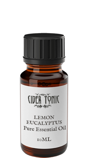 Lemon Eucalyptus Essential Oil Cider Tonic