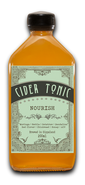 Cider Tonic Nourish with Honey