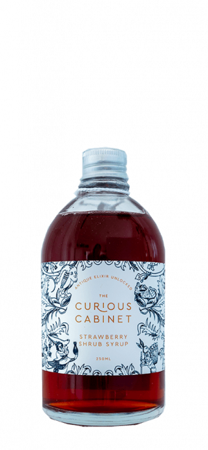 Strawberry-Shrub-Syrup-The-Curious-Cabinet-Cider-Tonic